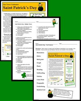 Informational Text - Saint Patrick's Day
