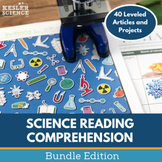 Science Reading Comprehension Bundle - 40 Reading Passages - Distance Learning