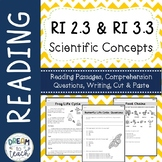 Informational Text - Scientific Concepts RI 2.3 & RI 3.3