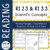 Informational Text - Scientific Concepts RI 2.3 & RI 3.3