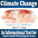 Informational Text Set - Climate Change