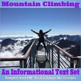 Informational Text Set - Mountain Climbing