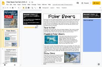 Informational Text Set {Polar Bear Problems}