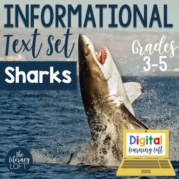 Informational Text Set {Sharks}