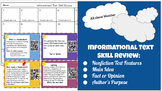 Informational Text: Skill Review Weather QR Code Cards