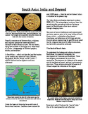 Informational Reading Text - South Asia: Ancient South Asia (No Prep/Sub Plans)