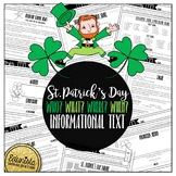 Informational Text: St. Patrick's Day | Reading Comprehens