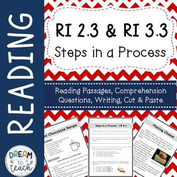 Informational Text - Steps in a Process RI 2.3 & RI 3.3