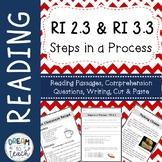 Informational Text - Steps in a Process RI 2.3 & RI 3.3
