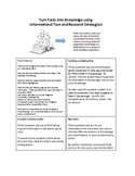 Informational Text Strategy Handout:  Turn Facts into Knowledge