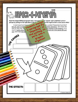 Informational Text Structure (Nonfiction Structure) Practice Packet—December Ed.