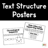 Informational Text Structure Posters