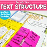 Nonfiction Text Structures Posters & Flipbook