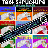 Informational Text Structure Practice—BUNDLE (Sept-May)