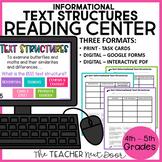Informational Text Structure Sort | Informational Text Str