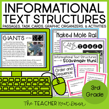 Informational Text Structures 3rd Grade