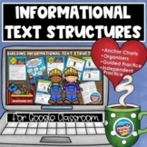 Informational Text Structures | Distance Learning