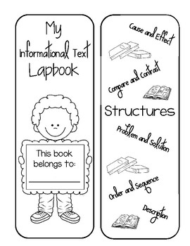 Informational Text Structures Lapbook
