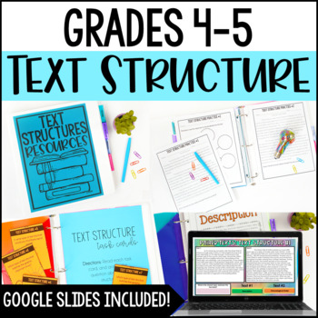 Text Structures Resources {Posters, Passages, and Printables}