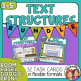 Informational Text Structures Task Cards and Digital Boom