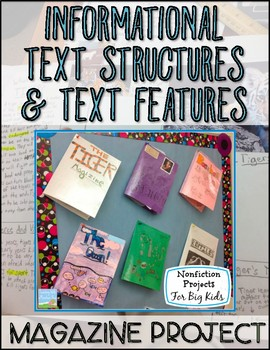 Informational Text Structures and Text Features