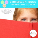 Informational Text Study Immersion Tool for Grades 1-3
