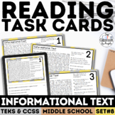 Informational Text Task Cards