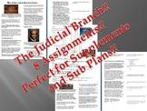 Info Reading Text - The Judicial Branch Bundle (No Prep/Su