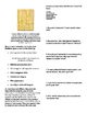 Informational Text - The Presidency: Presidential Character (Sub Plans)