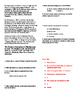Info Reading Text - US Presidents: John Adams (No Prep Sub Plans)