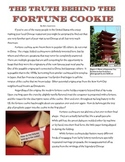 Informational Text: The Truth Behind the Fortune Cookie