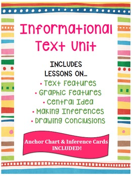 Informational Text Unit