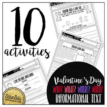 Informational Text: Valentine's Day