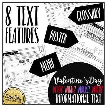 Informational Text: Valentine's Day | Reading Comprehension Passages & Questions