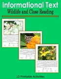 Informational Text - Wildlife and Close Reading (Print and