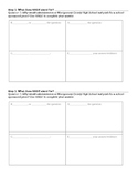 Informational Text Writing Activity
