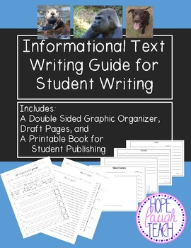 Informational Text Writing Guide for Student Writing