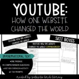 Informational Text: YouTube (Comprehension + Skit Box + TDA)