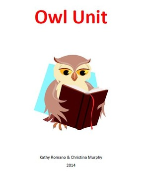 Informational Text and Comprehension Questions for Owl Unit