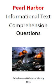 Informational Text and Comprehension Questions for Pearl Harbor