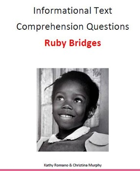 Informational Text and Comprehension Questions for Ruby Bridges