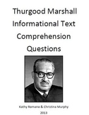 Informational Text and Comprehension Questions for Thurgood Marshall