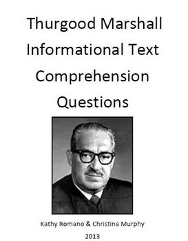 Informational Text and Comprehension Questions for Thurgoo