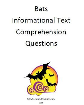 Informational Text and Comprehension Questions on Bats