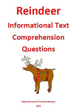 Informational Text and Comprehension Questions on Reindeer
