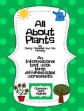 Informational Text and Questions About Plants - Common Cor