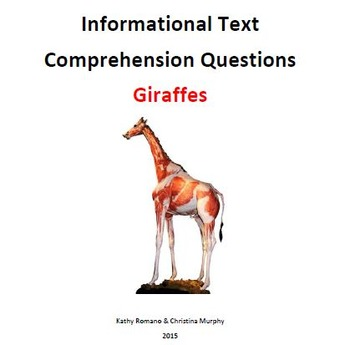 Informational Text and Questions for Giraffes