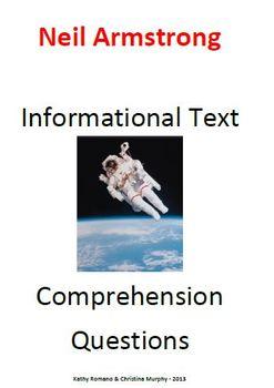 Informational Text and Questions for Neil Armstrong