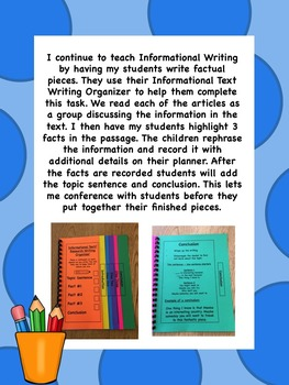 Informational Text and Research Writing