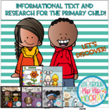 Informational Text and Research for the Primary Child...Bundle!